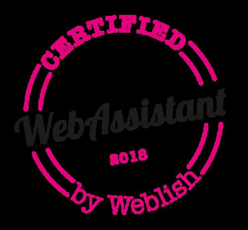 Logo Gecertificeerd WebAssistant 2018